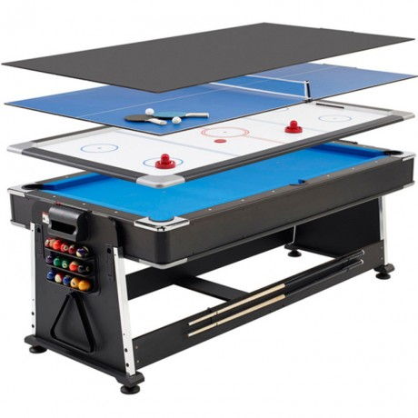 Table de billiard multiple jeux 5 en 1